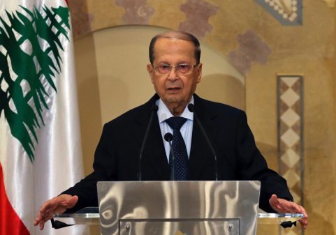 À 81 ans, Michel Aoun devient le chef de l'Etat libanais pour un mandat de six ans. Photo:DR