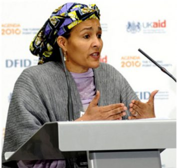 La Nigériane Amina Mohammed sera le bras droit du nouveau secrétaire général de l'ONU. Photo: DR