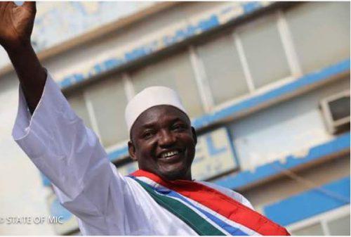 Adama Barrow a su mobiliser toute l'opposition gambienne pour surprendre Yahya Jammeh. Photo: DR