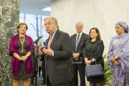 Antonio Guterres promet une ONU plus efficace. Photo: ONU/Rick Bajornas